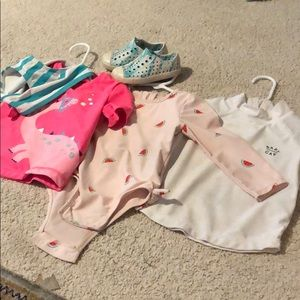 Baby girl swim bundle